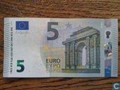 5 Euro-Banknote 2013