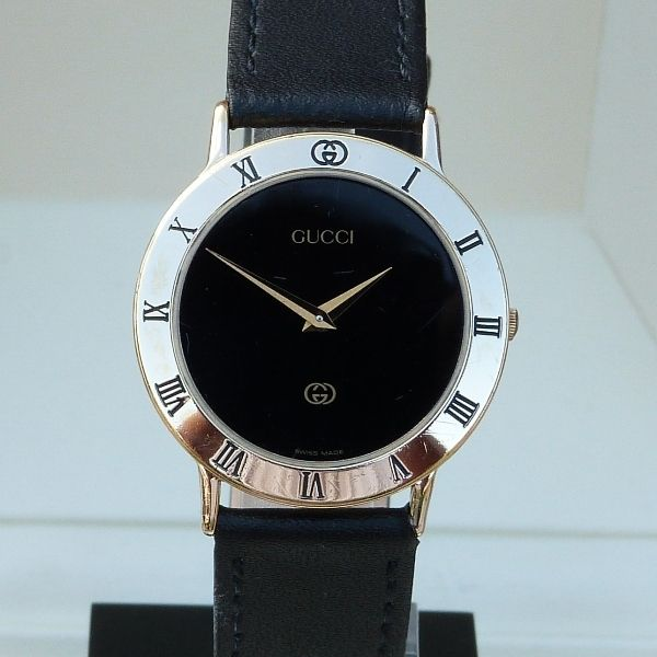 Gucci Timepieces - Luxe men's wristwatch - Circa 2000