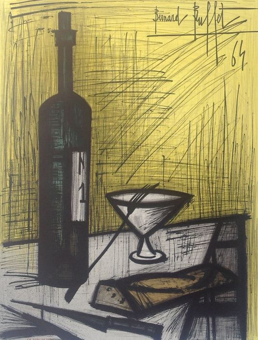 Bernard buffet catawiki for Bernard buffet vente