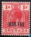 King George V (WAR TAX)