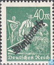 Workers, with overprint
