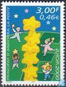 Postage Stamps - Andorra - French - Europe – Tower of stars