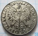 Poland 50 groszy 1938 (nickel-plated iron)