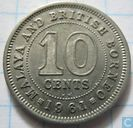 Malaya and British Borneo 10 cents 1961 (KN)