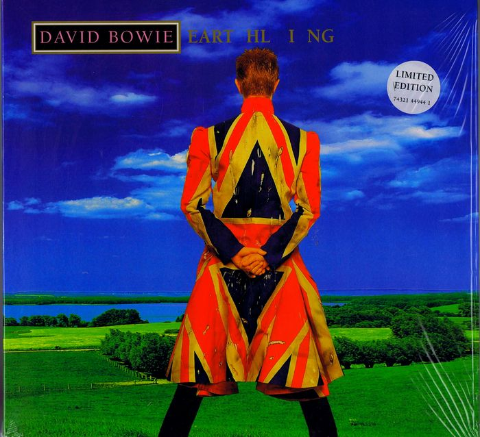 "David Bowie - ""Earthling"" - LP album - 1997/1997"