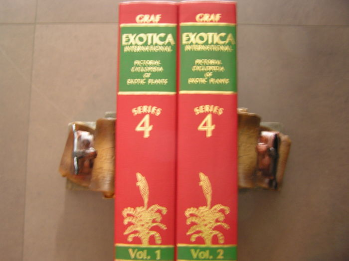 Alfred Byrd Graf - Exotica International. Series 4: Pictorial Encyclopedia of Exotic Plants From Tropical and Near-Tropic Regions - 2 volumes - 1985