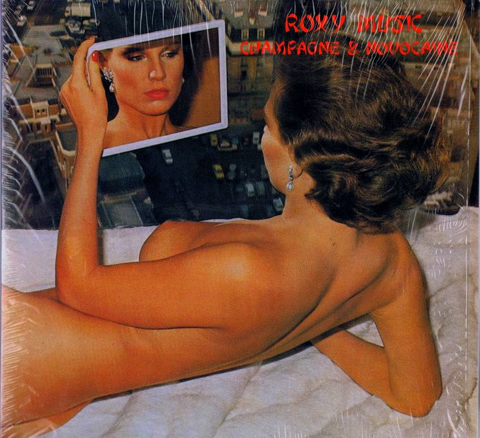Roxy Music - 2LPs Champagne and Novocaine (Saturated Recordworks 2S-705) unofficial 1979 double live album