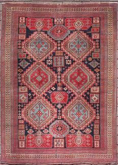 SHIRVAN Antique Persian rug, 1920