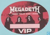 Megadeth Backstage VIP Pass, 2001
