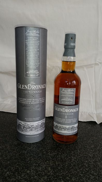 Glendronach 8 years old Octarine - Original bottling - 0.7 Ltr