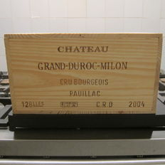 2004 Chateau Grand-Duroc-Milon, Pauillac Cru Bourgeois - 12 bottles in OWC