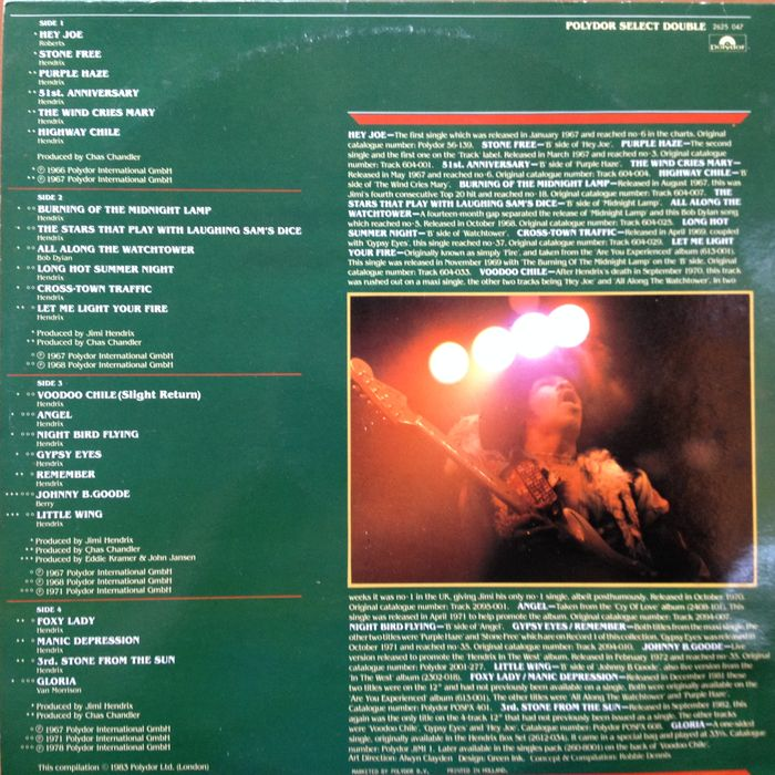 hendrix single personals Hendrix was a master at coaxing all  (the isley brothers' 1964 single testify is the only one of these early  (some dating from ill-advised contracts .