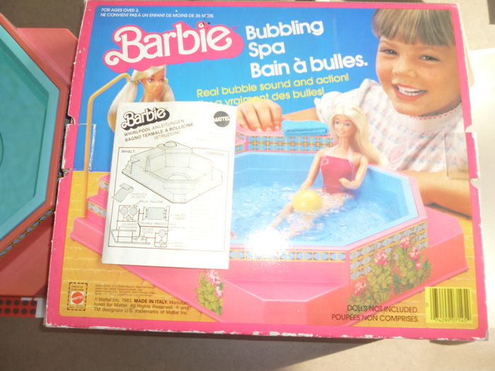 Barbie Bubbling Spa - Boxed !