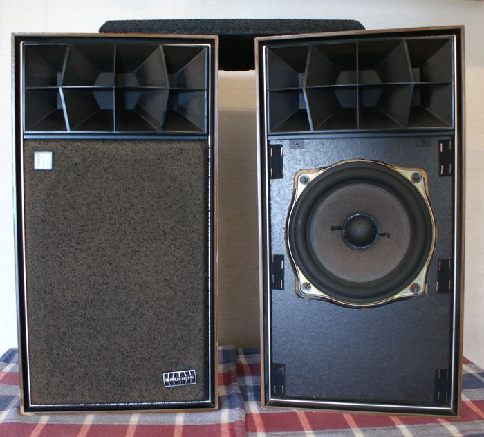 GRUNDIG HiFi-Box 506 Audioprisma speakers