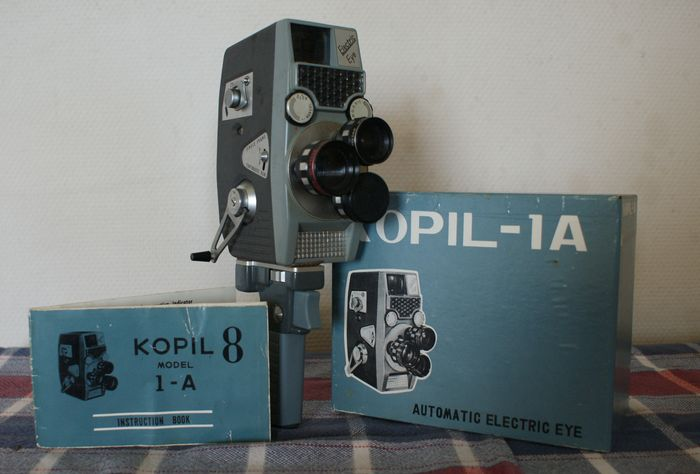 KOPIL 1A 8mm camera // Electric eye //Japanese SLR camera; sturdy and heavy