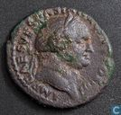 Roman Empire, AE AS, 69-79 AD, Vespasian, Rome, 70-71 AD, Rome, 72-73 AD