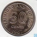 Trinidad and Tobago 50 cents 1967