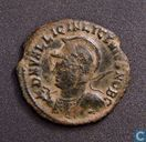 Roman Empire, AE2, 317-324 AD, Licinius II as Caesar under Licinius I, Heraclea, 321-324 AD