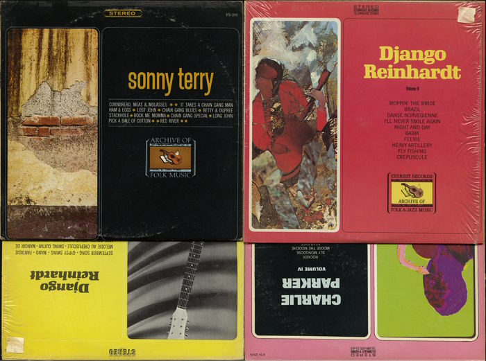 Lot of 20 jazz albums - Most on Everest / Archive of jazz, folk and blues  label - Catawiki