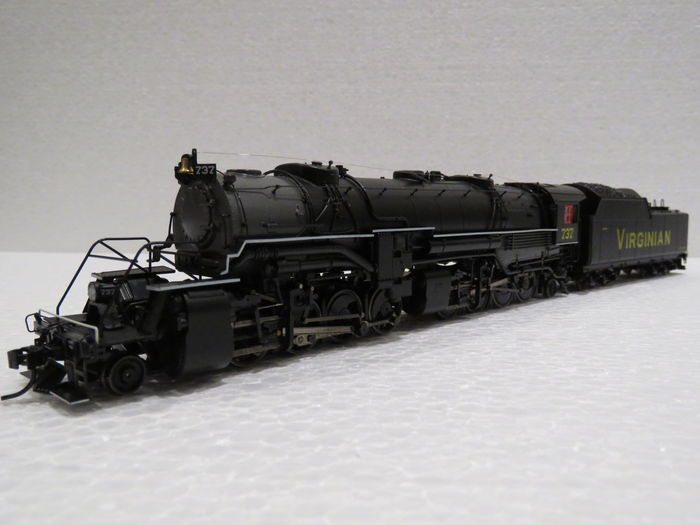 "Roco H0 - 63353 - Dampflok aus der US Steam Collection ""Virginian"""