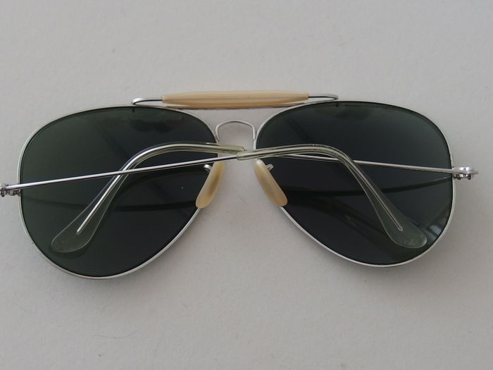 e7ac66c3b1d 70 s Ray-Ban B L Aviator Outdoorsman 1 30 - 10K GO (modified with real  gold) - Unisex - Sunglasses