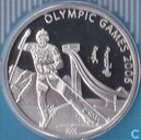 "Mongolië 500 tugrik 2006 (PROOF) ""2006 Winter Olympics - Turin - Ski jumping"""