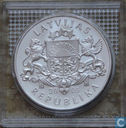 "Latvia 1 lats 2005 (PROOF) ""Bobsleigh Olympic Winter Games 2006"""