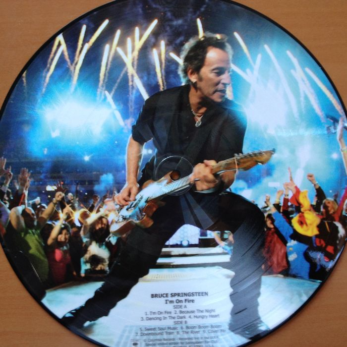 bruce springsteen picture disc lp i 39 m on fire catawiki. Black Bedroom Furniture Sets. Home Design Ideas