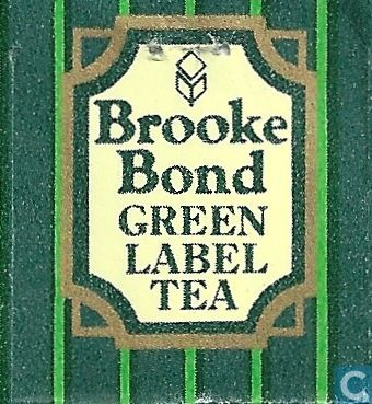 Green Label Tea - Brooke Bond - Catawiki