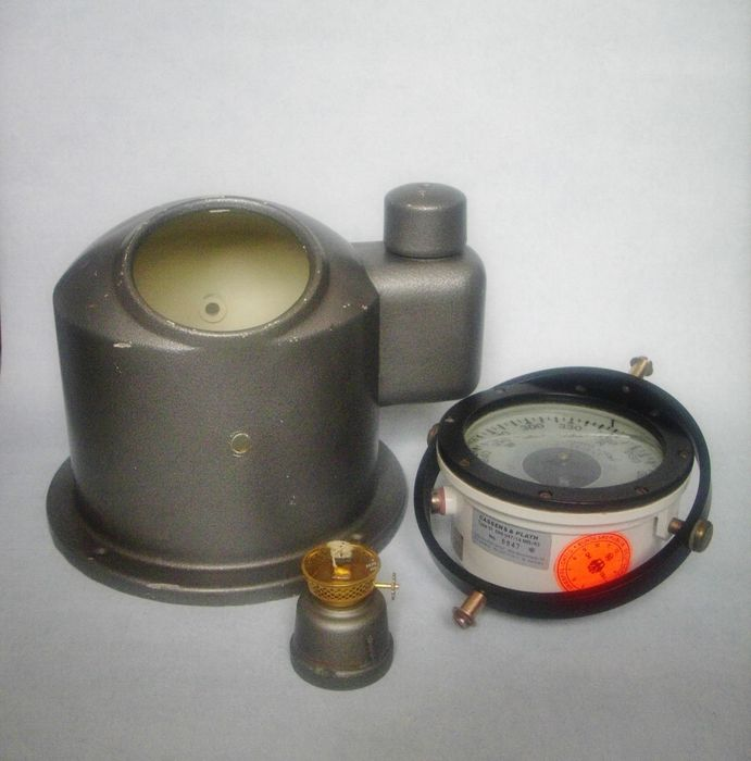 Cassens & Plath Compass with Sestrel Binnacle - ca. 1960