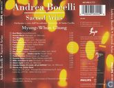 Vinyl records and CDs - Bocelli, Andrea - Sacred Arias
