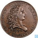 United States 1 cent 1792 (Birch cent)