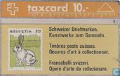 Stamp - Rabbit - backside: Verlangen Sie