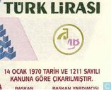 Billets de banque - Turquie - 7th Emission - Turquie 1 Million Lira ND (2002/L1970)