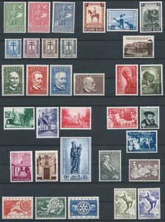 Belgium 1953/1962 - collection with 60 full issues