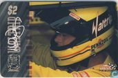 Michael Waltrip with Signature