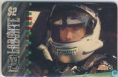 Bobby Labonte with Signature