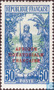 Bakalois woman, with overprint
