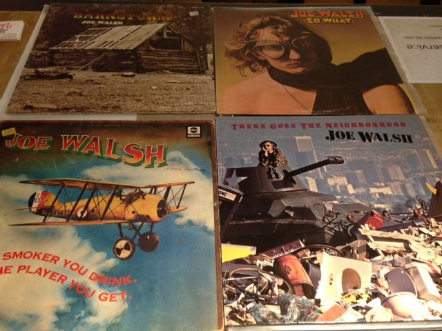 Joe Walsh - Barnstorm/So What/The Smoker You Drink, The Player You  Get/There Goes The Neighborhood - Catawiki