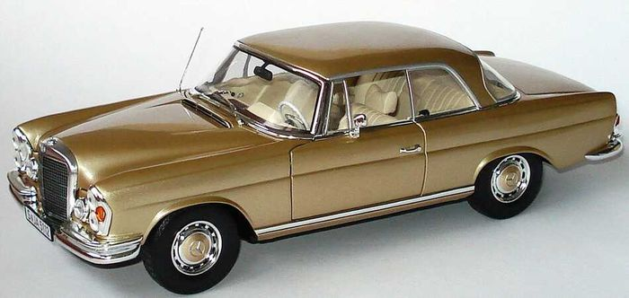 norev 1 18 scale mercedes benz 280 se coupe catawiki. Black Bedroom Furniture Sets. Home Design Ideas