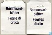 Tea bags and Tea labels - Migros - Switzerland - Brennessel-Blätter