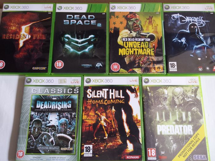 Horror Games For Xbox 1 : Lot of xbox horror games sealed all pal catawiki