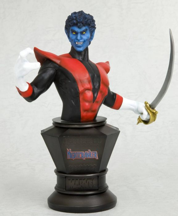 Marvel X-Men Nightcrawler - Kotobukiya - 18 cm hoog - Fine Art buste van Nightcrawler