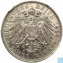 "Anhalt-Dessau 2 mark 1896 ""25th Anniversary of the Reign of Frederick I"""