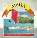 Malta mint set 1986 (PROOF)