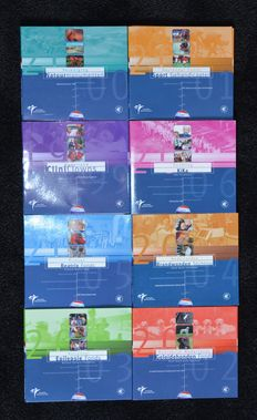 The Netherlands - Year packs 1999/2006 (8 pieces) 'Charities'
