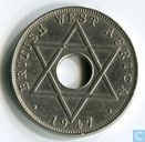 Brits-West-Afrika ½ penny 1947 (KN)