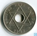 Brits-West-Afrika ½ penny 1949 (KN)