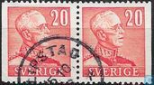 King Gustav V (large numerals)