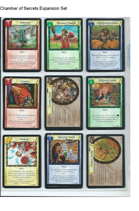 Harry potter trading cards game complete 499 cards all art many harry potter trading cards game complete 499 cards all art many extras fandeluxe Images